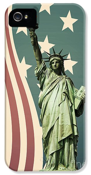 Statue Of Liberty IPhone 5 Case