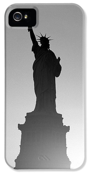 Statue Of Liberty IPhone 5 Case by Tony Cordoza
