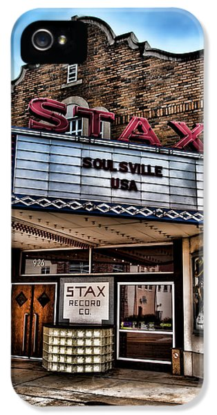 Stax Records IPhone 5 Case by Stephen Stookey