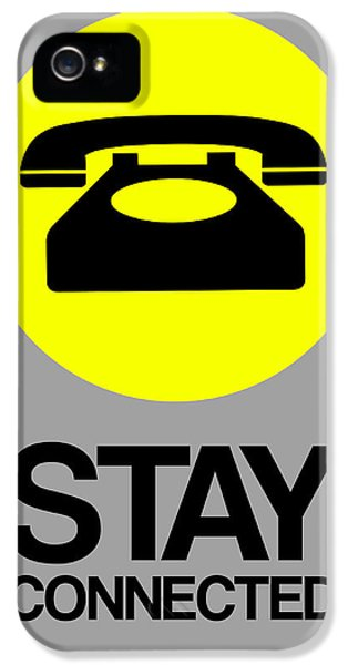 Stay Connected 1 IPhone 5 / 5s Case by Naxart Studio