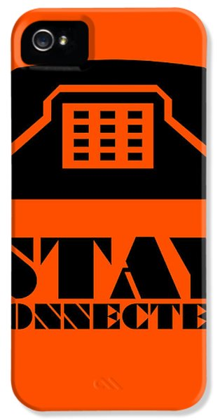Stay Connected 3 IPhone 5 / 5s Case by Naxart Studio
