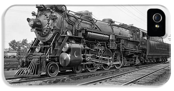 Washington D.c iPhone 5 Case - Steam Locomotive Crescent Limited C. 1927 by Daniel Hagerman