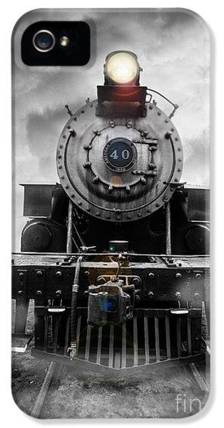 Train iPhone 5 Case - Steam Train Dream by Edward Fielding