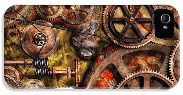 Steampunk - Gears - Inner Workings IPhone 5 Case