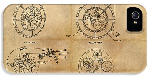 Steampunk Solar Disk IPhone 5 Case by James Christopher Hill