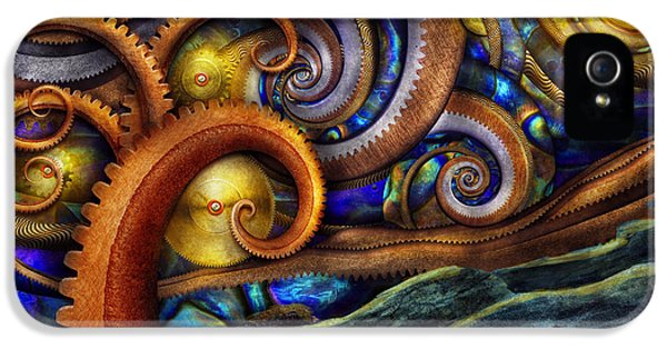 Steampunk - Starry Night IPhone 5 Case