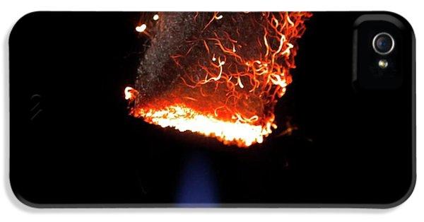 Steel Wool Burning In Air IPhone 5 Case