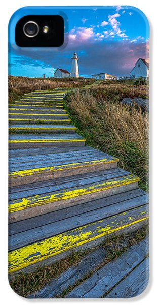 Steps To Cape Spear IPhone 5 Case by Gord Follett