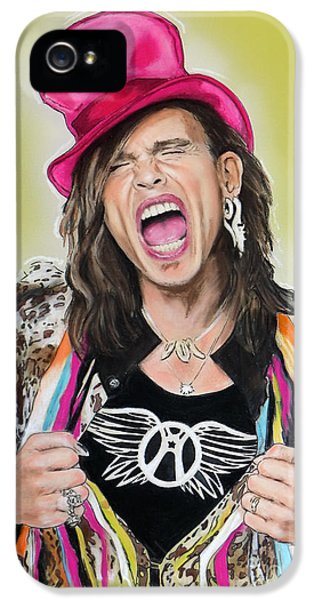 Steven Tyler 2 IPhone 5 / 5s Case by Melanie D