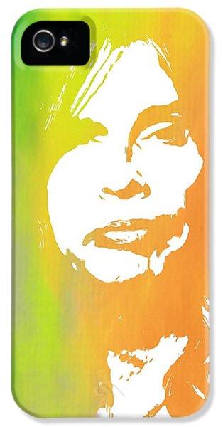 Steven Tyler iPhone 5 Case - Steven Tyler by Dan Sproul