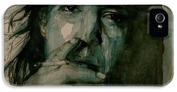 Legends iPhone 5 Case - Stevie Ray Vaughan by Paul Lovering