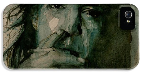 Stevie Ray Vaughan IPhone 5 Case by Paul Lovering
