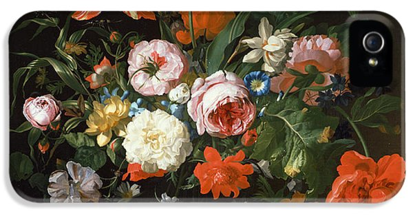 Still Life With Flowers  IPhone 5 Case by Rachel Ruysch