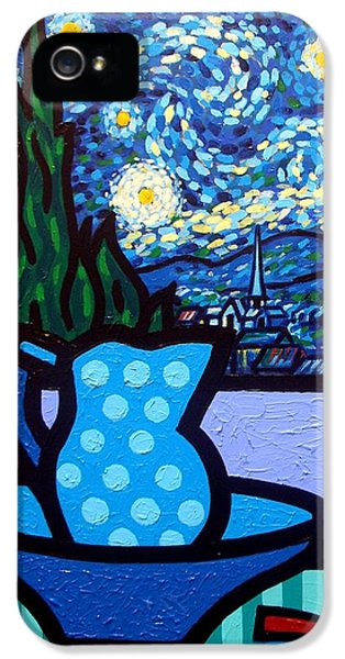Still Life With Starry Night IPhone 5 Case