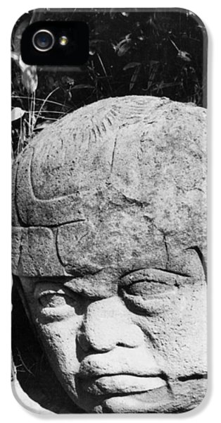 Stone Heads Found In Mexico IPhone 5 Case