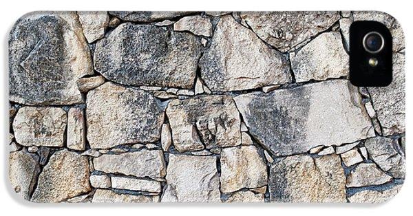 Stone Wall Texture IPhone 5 / 5s Case by Antony McAulay