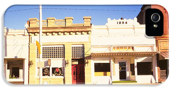 Store Fronts, Main Street, Small Town IPhone 5 Case by Panoramic Images