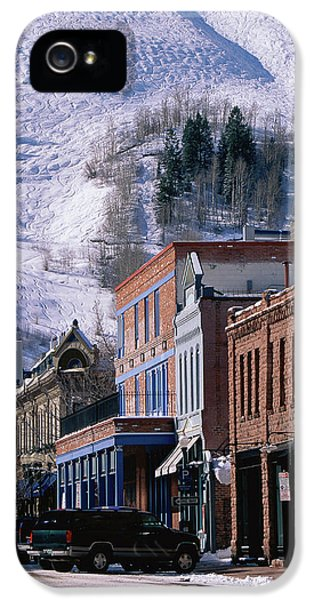 Storefronts, Aspen, Colorado IPhone 5 Case by Panoramic Images