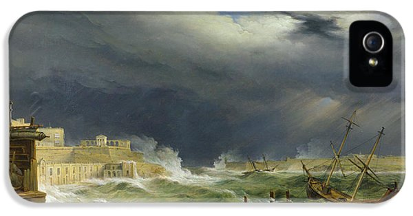 Storm Malta IPhone 5 Case by John or Giovanni Schranz