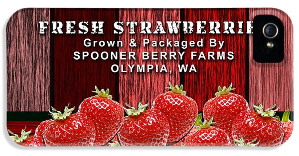 Strawberry Farm IPhone 5 Case