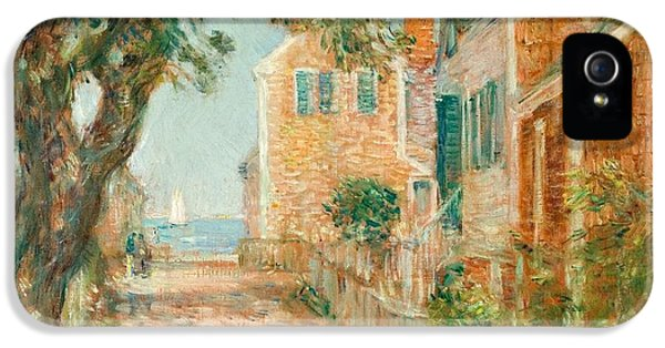 Street In Provincetown IPhone 5 Case by  Childe Hassam