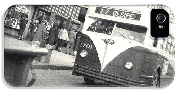 Streetcar Named Desire IPhone 5 Case by Cynthia Decker