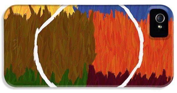 Strokes Of Colour IPhone 5 / 5s Case by Condor