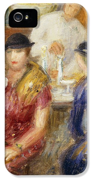 Study For The Soda Fountain IPhone 5 Case by William James Glackens