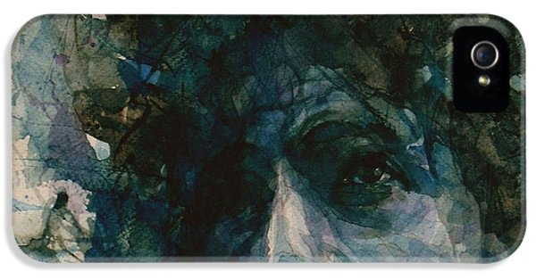 Subterranean Homesick Blues  IPhone 5 Case by Paul Lovering