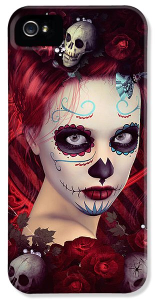 Sugar Doll Red IPhone 5 Case