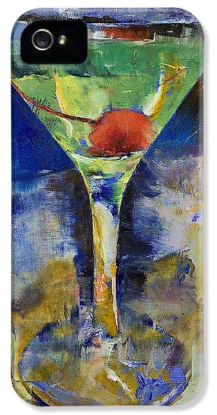 Summer Breeze Martini IPhone 5 Case