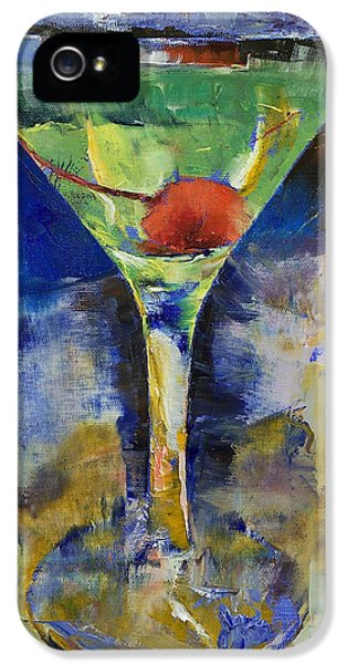 Summer Breeze Martini IPhone 5 / 5s Case by Michael Creese