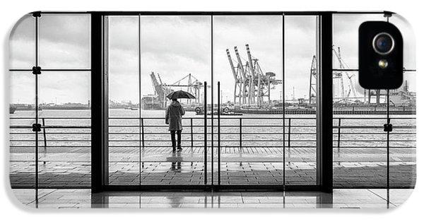 Crane iPhone 5 Case - Summer In Hamburg by Alexander Sch?nberg