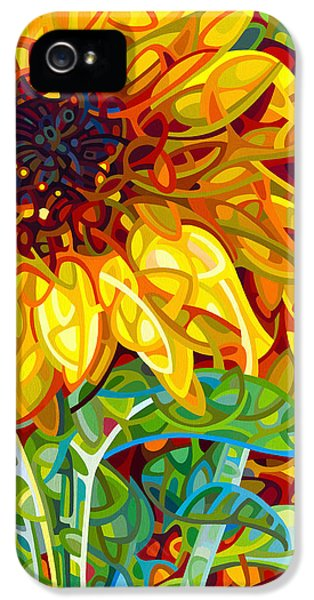 Summer In The Garden IPhone 5 Case by Mandy Budan