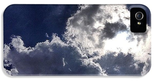 Sunny iPhone 5 Case - Summer Sky  by Nic Squirrell