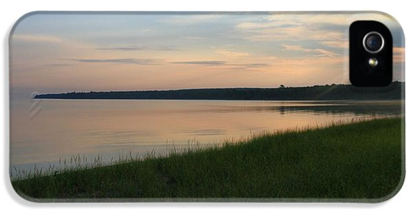 Breathe iPhone 5 Case - Summer Sunset On Lake Superior by Dan Sproul