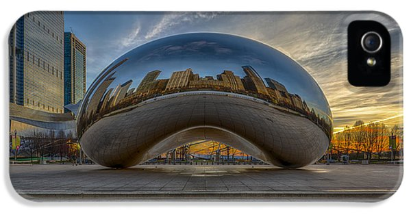 Sunrise Cloud Gate IPhone 5 Case