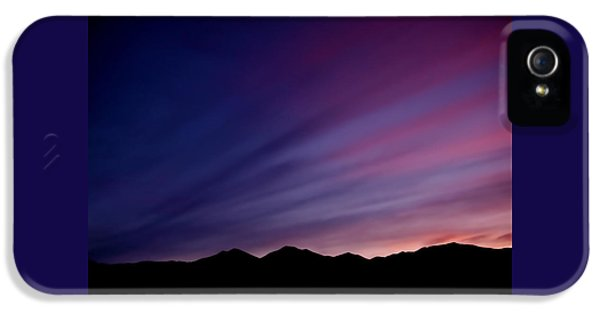 Sunrise Over The Mountains IPhone 5 Case
