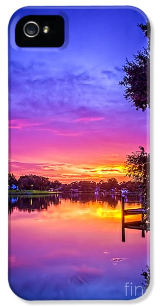 Sunset At The Pier IPhone 5 Case