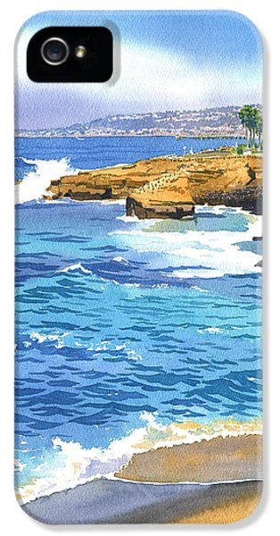 Pacific Ocean iPhone 5 Case - Sunset Cliffs Point Loma by Mary Helmreich