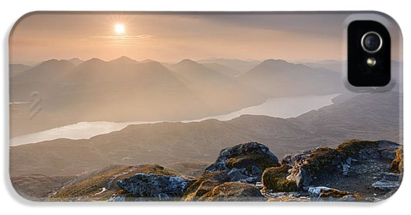 Sunset From Ben Lomond IPhone 5 Case by Rod McLean