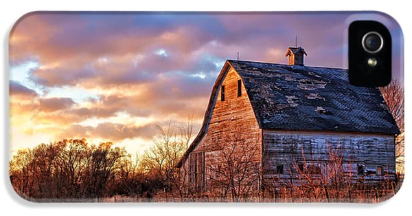 Nebraska iPhone 5 Case - Sunset In The Country by Nikolyn McDonald