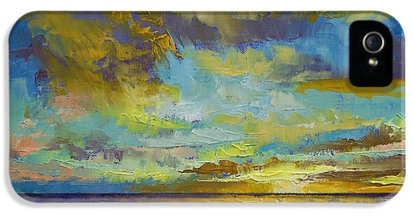 Sunset Key Largo IPhone 5 Case by Michael Creese