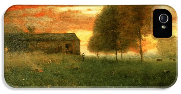 Sunset, Montclair, 1892 IPhone 5 Case