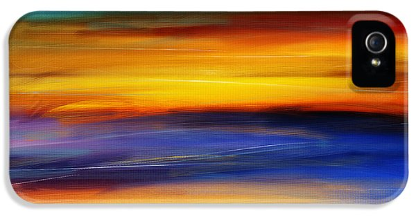 Sunset Of Light IPhone 5 Case by Lourry Legarde