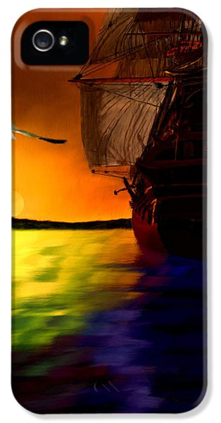 Sunset Sails IPhone 5 Case by Lourry Legarde