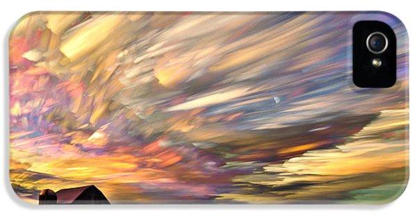 Time iPhone 5 Case - Sunset Spectrum by Matt Molloy