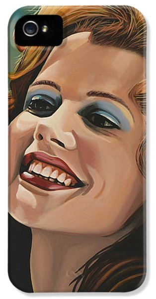 Susan Sarandon And Geena Davies Alias Thelma And Louise IPhone 5 Case by Paul Meijering
