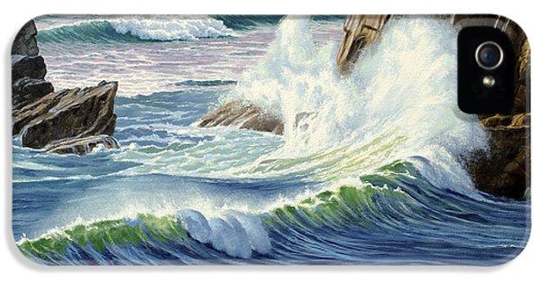 Sweeping Surf IPhone 5 Case by Paul Krapf