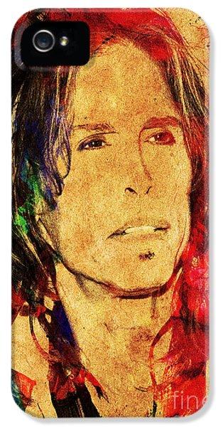 Steven Tyler iPhone 5 Case - Sweet Emotion by Gary Keesler